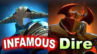 INFAMOUS vs The Dire - Semi-Final King's Cup America DOTA 2