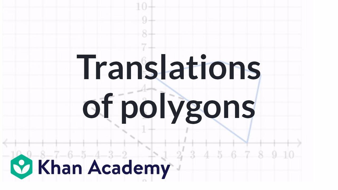 Translations of polygons