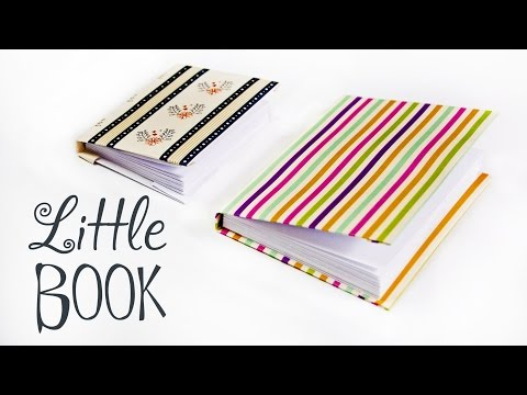 How to make a paper little book | DIY Paper Book | Paper Notebook! Mini DIARY