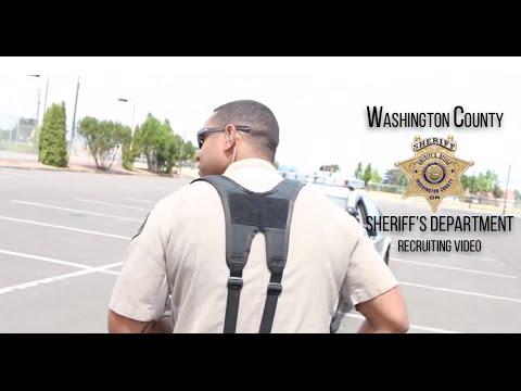 Washington County Sheriff's Department Recruitment Video