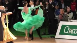 Semifinal. Tango. Minato Kojima and Megumi Morita won the Prince Mi...