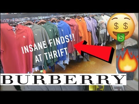 7d78f2a1d3e5 DESIGNER CLOTHES found at THRIFT STORE!!! - YouTube