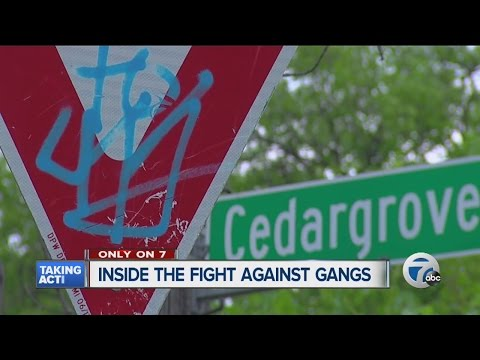 Inside the fight against gang violence in Detroit
