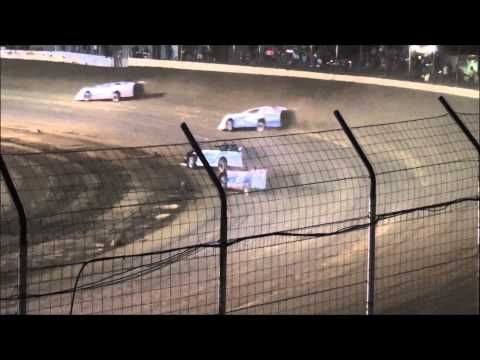 20th Annual Fred Dillow Memorial Late Model Feature from Portsmouth Raceway Park 8/16/14.