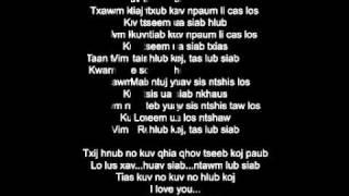 Maiv Neeb Thoj - Vim Kuv Hlub Koj