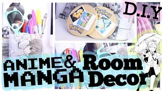 D.I.Y Anime & Manga ROOM DECOR! SammieSpeaks