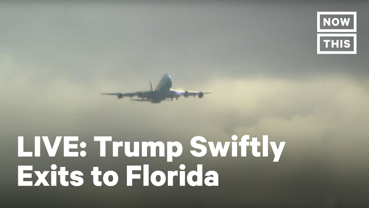 President Trump Arrives in Florida | LIVE | NowThis - download from YouTube for free