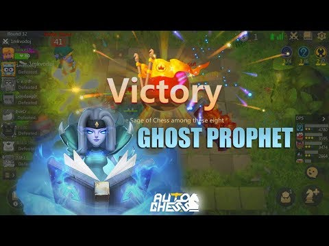 Auto Chess Mobile - Ghost Prophet Update vs God Mage Warlock Guide Counter Beast War Meta