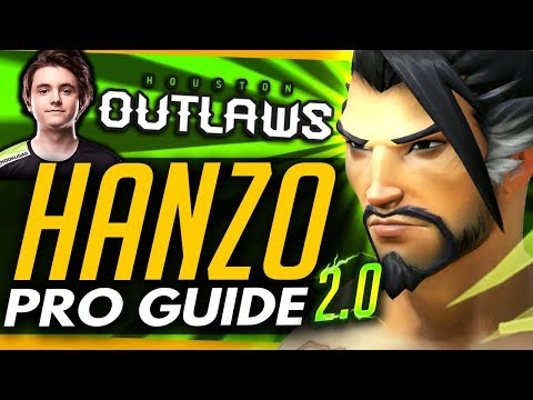 Overwatch |  NEW HANZO PRO GUIDE ft Mendokusaii thumbnail