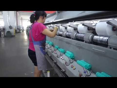 ningbo mh sewing thread factory of Lixian Base