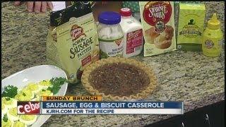 Sunday Brunch: Natalie Mikles' Sausage-egg Biscuit Casserole Part Ii
