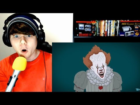 The Evolution Of Pennywise / IT (Animated) Tell It Animated REACTION!!!