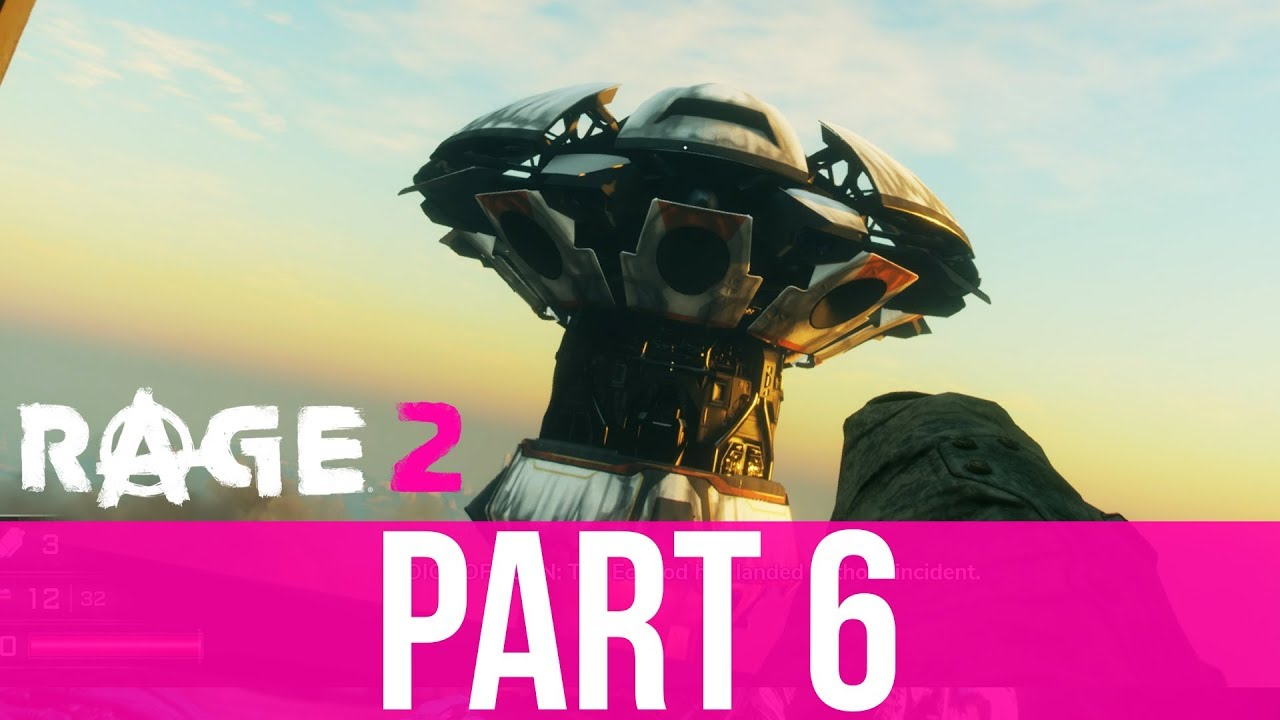 RAGE 2 Gameplay Komplettlösung Teil 6 - SPACE EDEN CENTER (Vollversion) + video