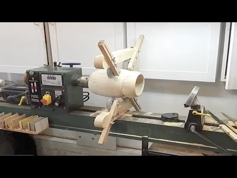 18X47 Wood Lathe Steady Rest Attachment