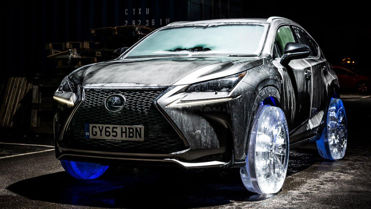 Lexus On Ice: NX Ice Wheels   YouTube