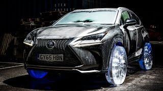 Lexus on Ice: NX Ice Wheels