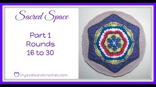 Sacred Space part 1 rounds 16 to 30