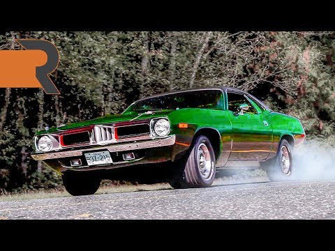 1973 Plymouth Cuda 5.9L | Still Burning Through Tires at 45 Years Old.