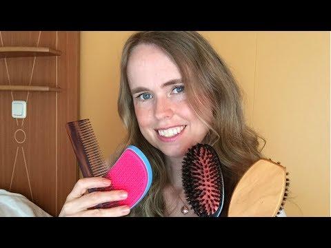 ASMR Haarborstel Geluiden