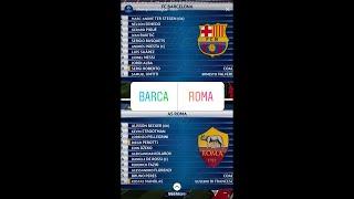 Video Barcelona v as roma liga champion live 5 april 2018 download MP3, 3GP, MP4, WEBM, AVI, FLV Agustus 2018