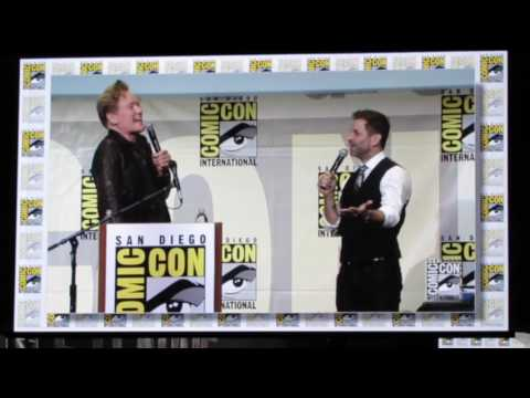 Justice League Movie Panel from SDCC 2016