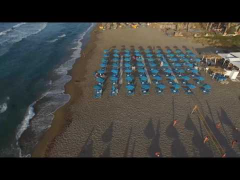 Wonderful Crete : Beach near Heraklion City