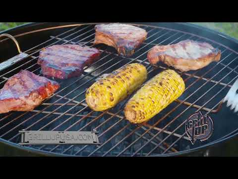 GrillUp USA - Grillup Height Adjustable Replacement Grill Grate Cooking Grid