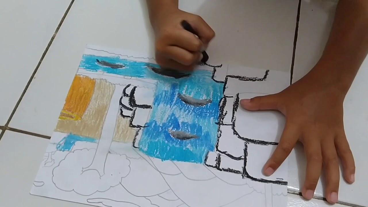 MEWARNAI GAMBAR // BELAJAR ANAK PAUD // part-2 - YouTube