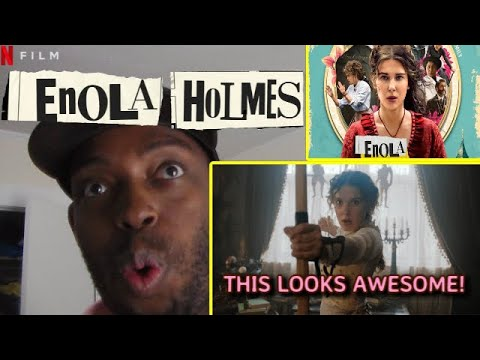 Enola Holmes Trailer #1 (2020) Netflix REACTION!!!