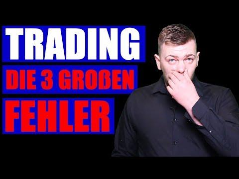❌ Trading - Die 3 größten Anfängerfehler [❌DAS MUSST DU VERMEIDEN❌]