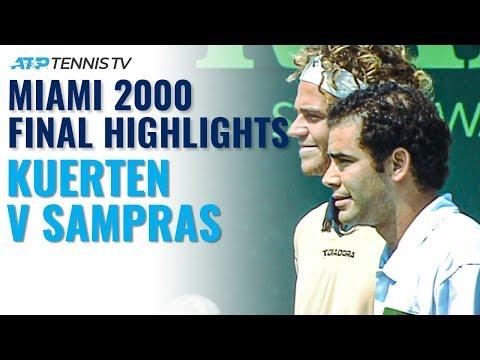 Gustavo Kuerten vs Pete Sampras: Classic Tennis Highlights   Miami 2000 Final