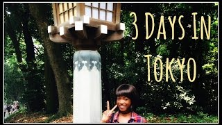 What To Do For 3 Days in Tokyo