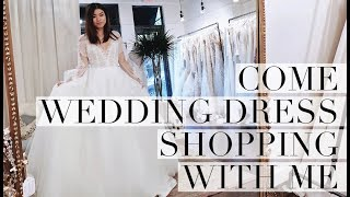 COME WEDDING DRESS SHOPPING WITH ME - WEDDING WEDNESDAY // by CHLOE WEN