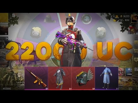 [ PUBG MOBILE ] SEASON 9 - LUCKY SPIN FOR MASKED PSYCHIC ROBE SPENDING 22000 UC FOR THIS MYTHIC ???