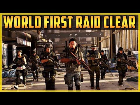 The Division 2 | WORLD FIRST RAID CLEAR