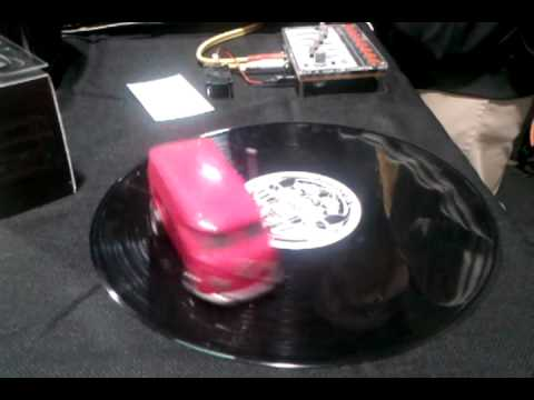 Soundwagon: worlds smallest portable record player