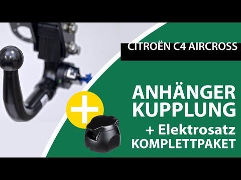 Anhängerkupplung Abnehmbar CITROËN C4 AIRCROSS | AUTO-HAK Komplettsatz + Montage Von Rameder