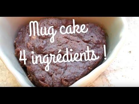 *Mug cake chocolat* IG BAS,  SANS (gluten/beurre/huile/lait/oeufs/sucre raffiné)