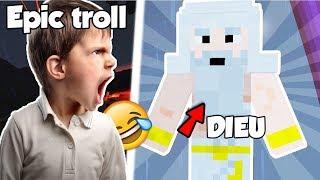 JE TROLL UN KIKOO AVEC DIEU ET JESUS 😂!! Minecraft troll kikoo fr ! Court metrage minecraft