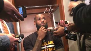 LeBron James: 'It's been a .... 2017 so far' for the Cavs