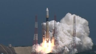H2Aロケット39号機打ち上げ情報収集衛星レーダー6号搭載 thumbnail