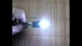 видео Светодиодная лампа 1SMD-5050