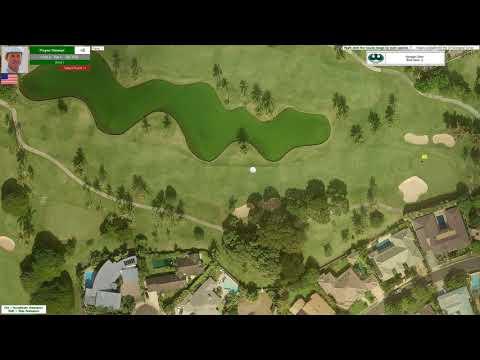 Action! PC Golf 1993 Season: Hawaiian Open @ East Honolulu CC (Round #2)
