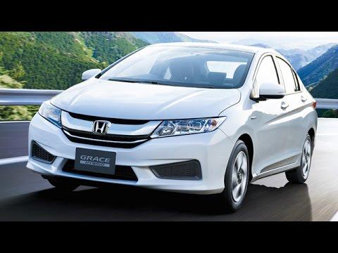 Honda City Grace Hybrid Unveiled In Japan !