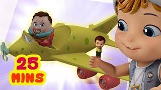 Finger Family - Vehicle Songs | Infobells Nursery Rhymes for Children