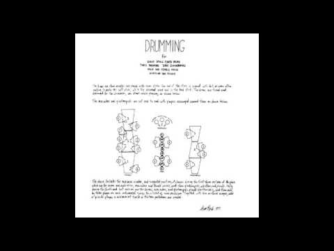 Steve Reich and Musicians - Drumming - Original 1971 Live Recording