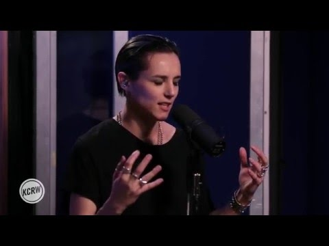 "Savages performing ""Adore""  on KCRW"