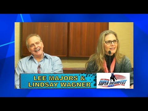 Super Megafest 2014 - Lee Majors & Lindsay Wagner Q&A Entire Panel
