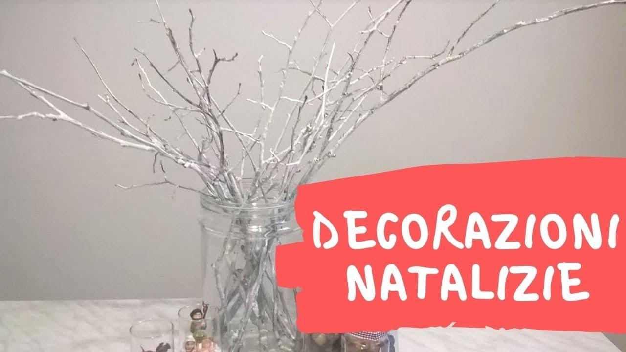 Rami bianchi decorativi e centrotavola delle feste youtube - Rami decorativi natalizi ...