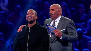 Kanye's Fast Money Round Win - Celebrity Family Feud